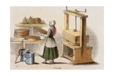 Cheese, C1845 Giclee Print by Benjamin Waterhouse Hawkins