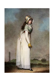 Portrait of an Irish Girl, Late 18th-Early 19th Century Giclee Print by Adam Buck
