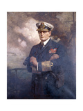 Admiral of the Fleet, the Earl Beatty, 1920 Giclee Print by Albert Chevallier Tayler