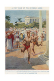 A Foot Race at the Olympian Games, Ancient Greece Giclee Print by Archibald Webb