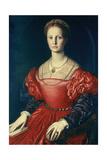 Lucrezia Panchiatichi, C1540 Giclée-tryk af Agnolo Bronzino