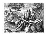 St Jerome, C1540-1567 Giclee Print by Adriaen Collaert