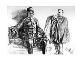 Studies of Old Dresses on Living Models, C1880-1882 Giclee Print by Adolph Menzel
