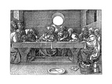 The Last Supper, 1523 Giclee Print by Albrecht Durer