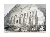 Exterior of the North Temple, Ebsamboul, Nubia, C1850 Giclee Print by Augustus Butler