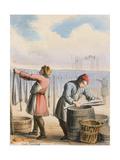 Cod Curing, C1845 Giclee Print by Benjamin Waterhouse Hawkins