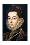 Portrait of the Infanta Catalina Michaela of Austria, C1582-C1585 Giclee Print by Alonso Sanchez Coello