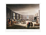 Womens' Ward in the Middlesex Hospital, London, 1808-1811 Giclee Print by Augustus Charles Pugin