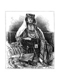 Ouled Nail Dancer, Algeria, C1890 Giclee Print by Armand Kohl