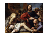 The Raising of Lazarus, Late 16th or 17th Century Giclee Print by Alessandro Tiarini