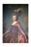 Portrait of the Grand Duchess Maria Feodorovna, 1777 Giclee Print by Alexander Roslin