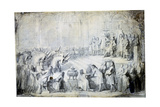 The Siamese Ambassadors before the King, 1686 Giclee Print by Charles Le Brun