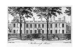Marlborough House, London Giclee Print by Charles Grignion