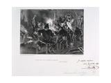 Dormez Donc, Avec Des Gaillards Comme Ca!, Siege of Paris, 1870-1871 Giclee Print by Auguste Bry