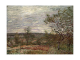 Windy Day at Veneux, 1882 Giclee Print by Alfred Sisley