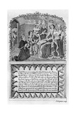Earl Rivers Presents His Book to King Edward IV, C1477 (Late 18th or Early 19th Century) Giclee Print by Charles Grignion