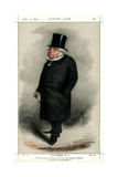 John Bright, British Radical and Liberal Politician, 1869 Giclee Print by Carlo Pellegrini