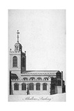 All Hallows-By-The-Tower Church, London, C1750 Giclee Print by Benjamin Cole