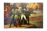 Napoleon at a Hunt in the Compiegne Forest, 1811 Giclée-Druck von Carle Vernet