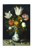Flowers in a Porcelain Vase, C1600 Giclee Print by Ambrosius Bosschaert