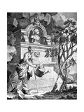 Frontispiece to the Artist's Catalogue, C1760S Giclee Print by Charles Grignion