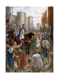 William Rufus at the Tower of London, Late 11th Century Giclee Print by Charles Goldsborough Anderson