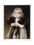 Miss Mildred Carter - Grandmother's Boa, C1864-1930 Giclee Print by Anna Lea Merritt