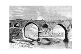 The Bridge of Dezful, Iran, 1895 Giclee Print by Armand Kohl