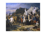 Siege of Yorktown, 1781 Giclee Print by Auguste Couder