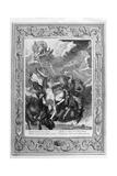 Phaeton Struck Down by Jupiter's Thunderbolt, 1733 Giclee Print by Bernard Picart