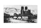 L'Abside, C1841-1868 Giclee Print by Charles Meryon