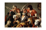 The Healing of Tobit, C1635 Giclee Print by Bernardo Strozzi