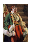 Braskkulla, a Peasant Girl from Moro, 1911-1912 Giclee Print by Anders Leonard Zorn