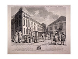 Guilford Street, St Pancras, London, 1749 Giclee Print by Charles Grignion