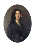 George Sand, French Novelist and Early Feminist, C1845 Giclee Print by Auguste Charpentier