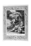 Perseus Cuts Off Medusa's Head, 1733 Giclee Print by Bernard Picart