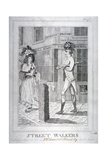 Street Walkers, 1786 Giclee Print by Benjamin Smith