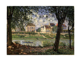 Villeneuve-La-Garenne (Village on the Sein), 1872 Giclee Print by Alfred Sisley
