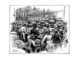 Ice Stall in the Market, Georgetown, Demerara, Guyana (British Guian), 1888 Giclee Print by Amedee Forestier