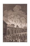 London Bridge, London, 1775 Giclee Print by Charles Grignion