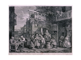 Canvassing for Votes, 1757 Giclee Print by Charles Grignion