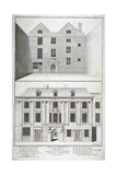 City of London Lying-In Hospital for Married Women, Aldersgate Street, London, C1750 Giclee Print by Benjamin Cole