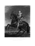 James I, King of Great Britain, 1816 Giclee Print by Charles Turner