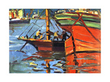 A Sunny Day at Buenos Aires Giclee Print by Benito Quinquela Martin