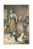 Scene from Great Expectations by Charles Dickens Giclee Print by Charles Green