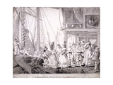 Dice Quay, Lower Thames Street, London, 1788 Giclee Print by Charles Ansell