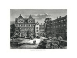 Heidelberg Castle, Germany, 1879 Giclee Print by Charles Barbant