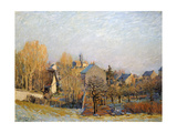 Frost in Louveciennes, 1873 Giclee Print by Alfred Sisley