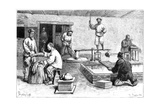 A Paper Mill, China, 1895 Giclee Print by Armand Kohl