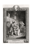 Lady Elizabeth Grey, Petitioning Edward IV to Restore Her Lands, 15th Century Giclee Print by Charles Grignion